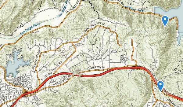 Lake Jennings Park Map