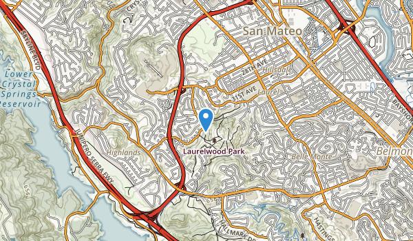 Laurelwood Park Map