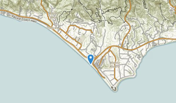 trail locations for Malibu Equestrian Park