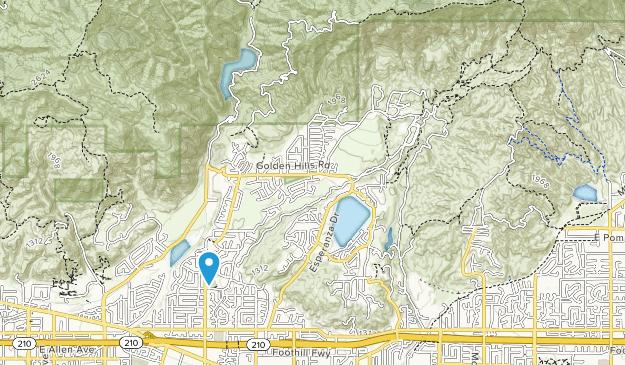 Marshall Canyon Regional Park Map