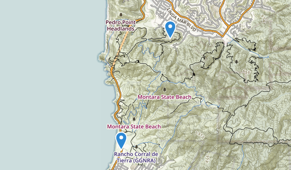 McNee Ranch State Park Map