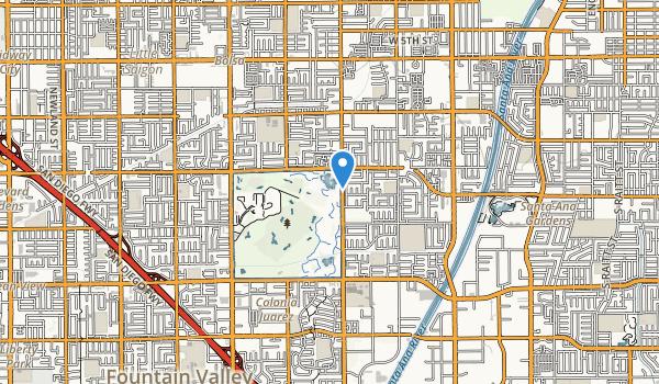 Mile Square Regional Park Map