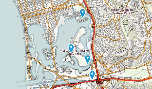 Mission Bay Park Map