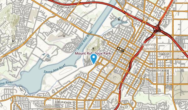 Mount Rubidoux Park Map