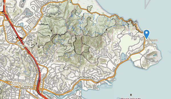 trail locations for Mountain Park