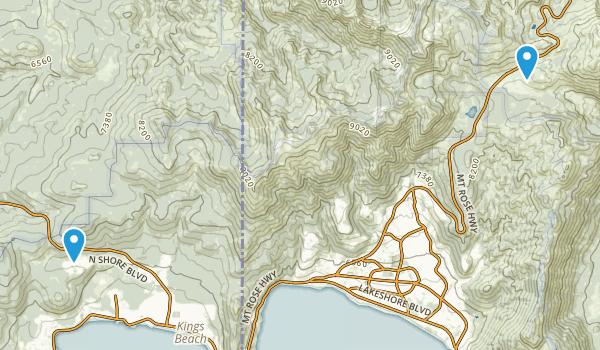 North Tahoe Regional Park Map