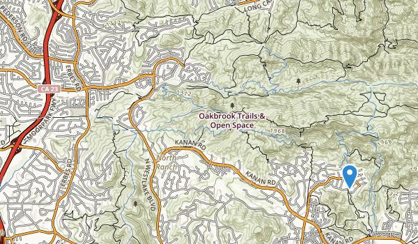 Oak Brook Park Map