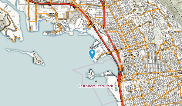 Point Isabel Regional Shoreline Map