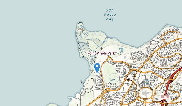 Point Pinole Regional Park Map