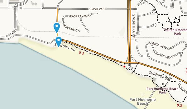 Port Hueneme Beach Park Map