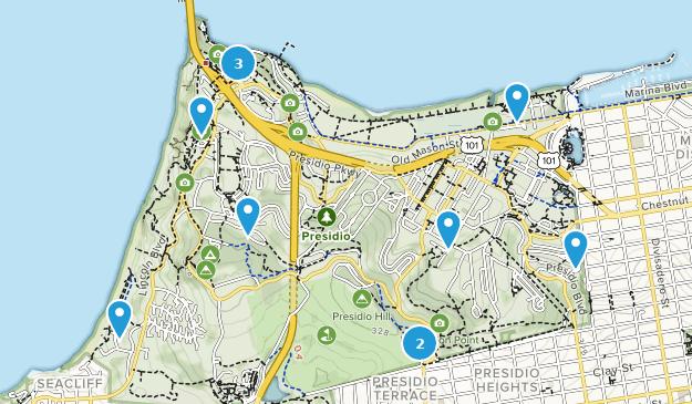 Best Trails In Presidio Of San Francisco California Alltrails - San-francisco-us-map