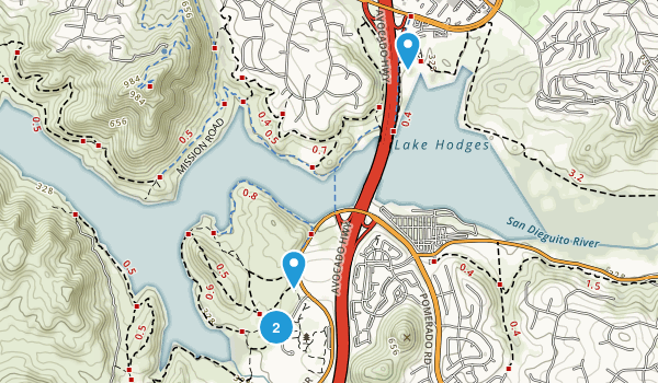 Rancho Bernardo Community Park Map