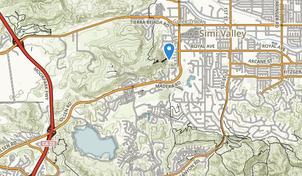 Rancho Madera Community Park Map