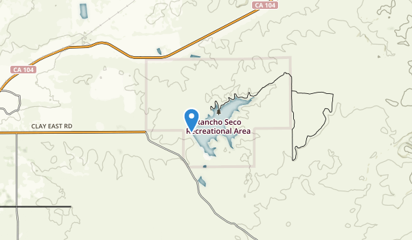 Rancho Seco Park Map