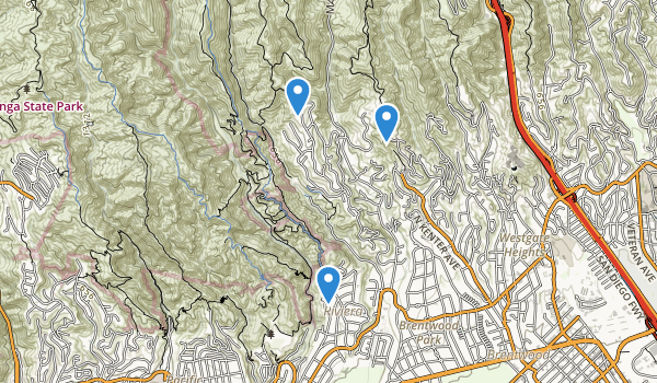 Rustic Canyon Park Map