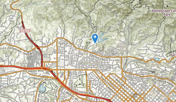 San Roque Park Map