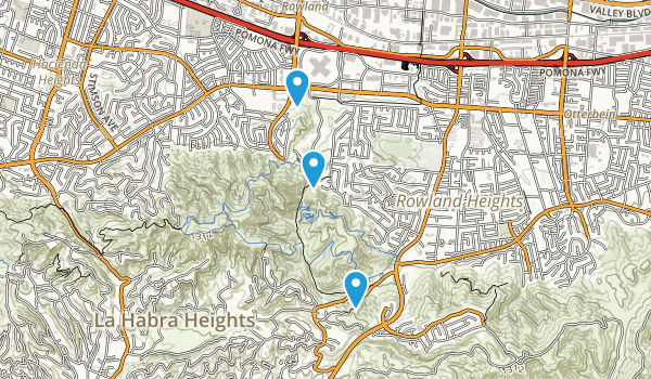 Schabarum Regional Park Map