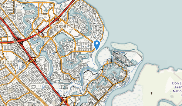 trail locations for Sea Cloud Park