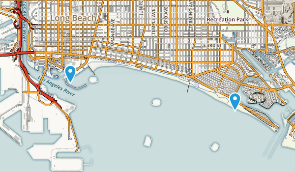 Shoreline Aquatic Park Map