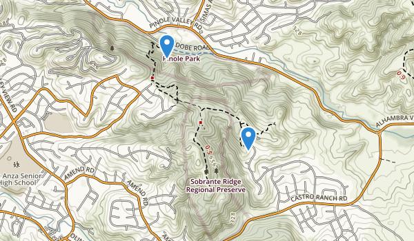 Sobrante Ridge Regional Preserve Map