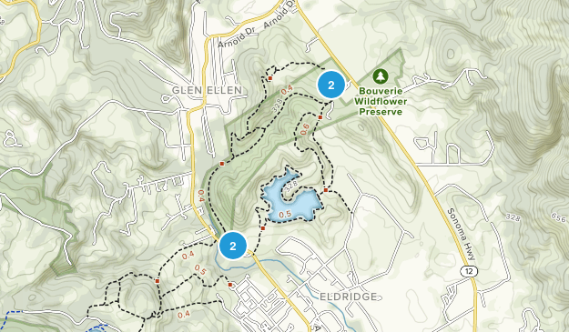 Sonoma Valley Regional Park Map