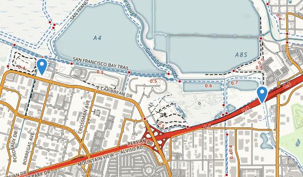 Sunnyvale Baylands Park Map