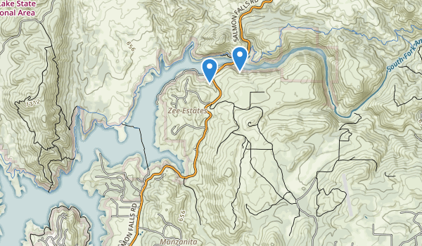trail locations for Sweetwater Basin Wildlife Area
