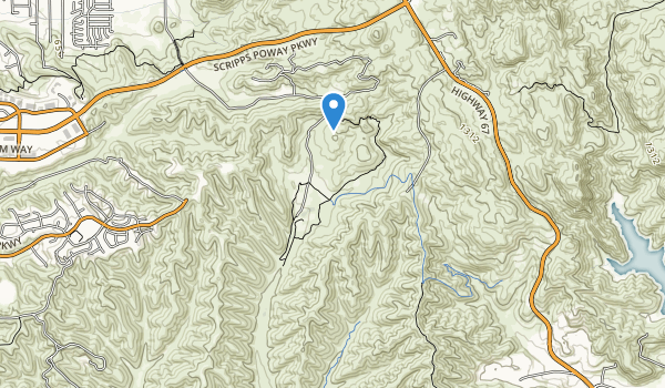 Sycamore Canyon Open Space Preserve Map