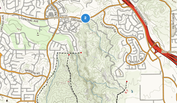 Sycamore Canyon Park Map