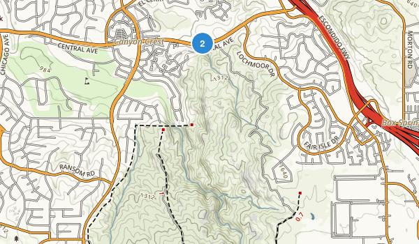 Sycamore Canyon Park Map