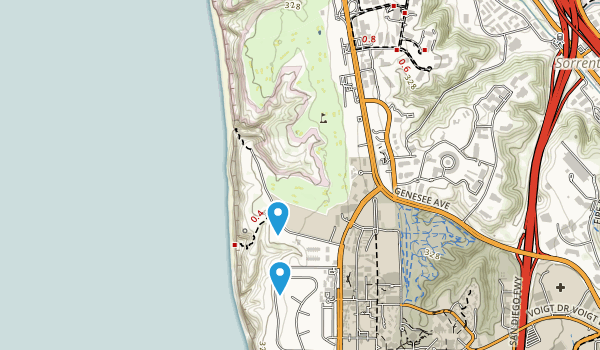 Torrey Pines City Park Map
