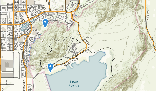 trail locations for Upland Game Hunting Area