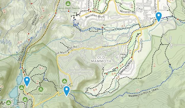 Valentine Reserve Ecological Study Area Map
