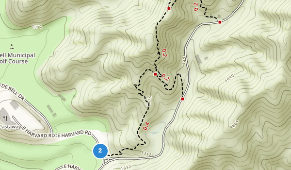 trail locations for Wildwood Canyon Park