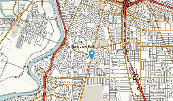 William Land Park Map