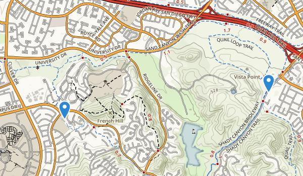 William R Mason Regional Park Map