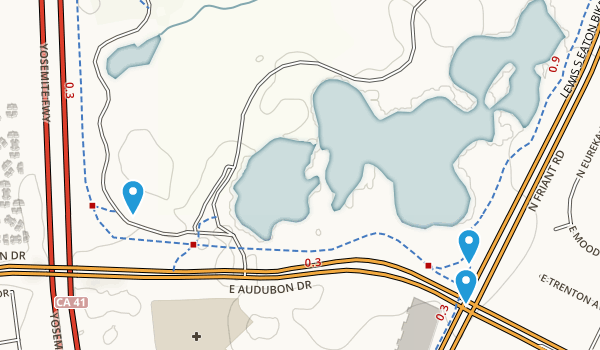 Woodward Park Map