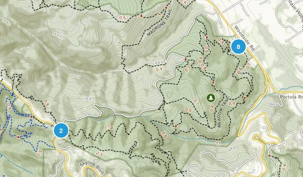 Wunderlich County Park Map