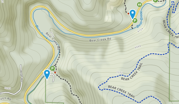 Corwina Park Map
