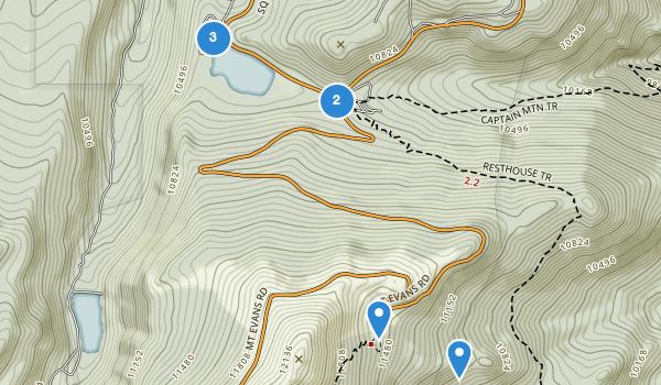 trail locations for Echo Lake Park