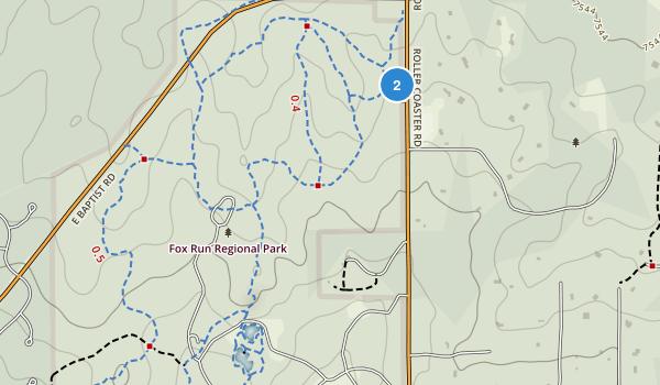 Fox Run Regional Park Map