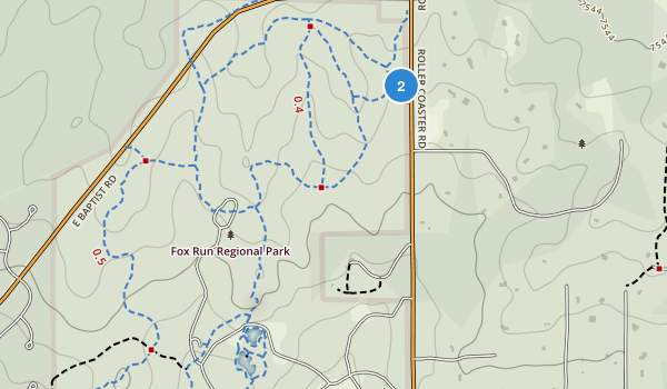Fox Run Regional Park Map