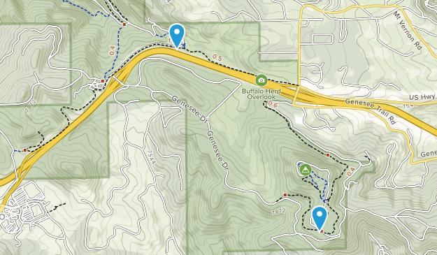 Genesee Park Map