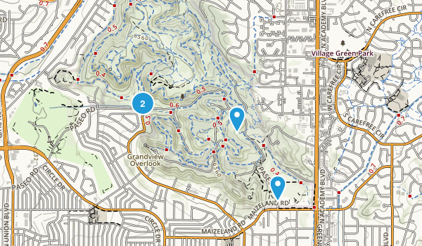 Palmer Park Map
