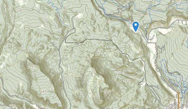 Perins Peak State Wildlife Area Map