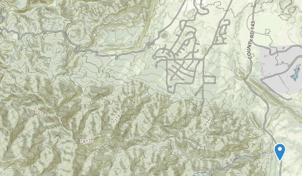 Temple Canyon Park Map