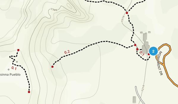 El Morro National Monument Map