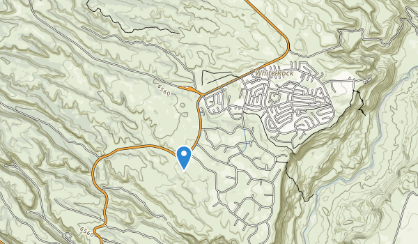 Pinon Park Map