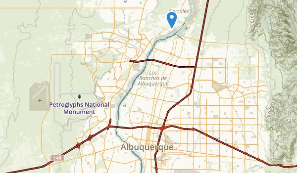 Rio Grande Valley State Park Map