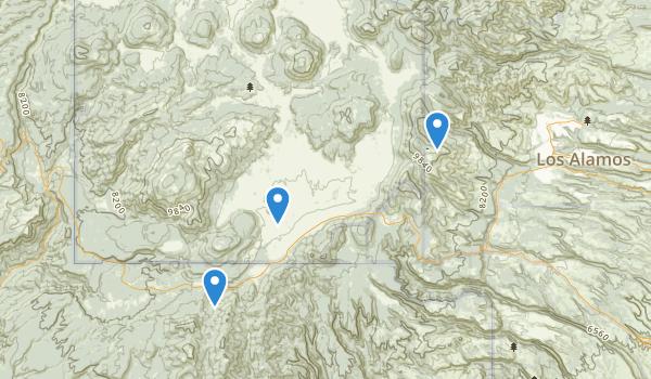 Valles Caldera National Preserve Map